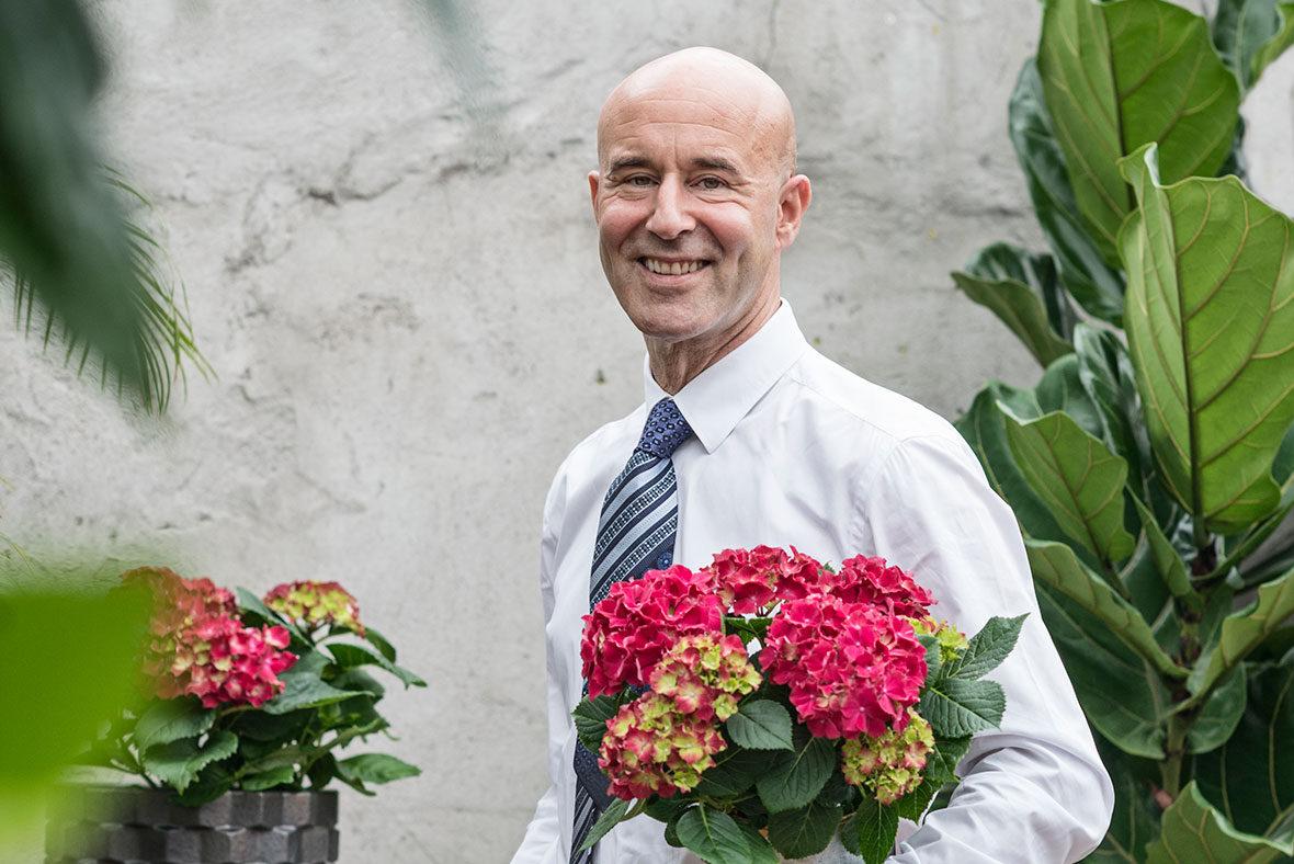 Blomsterfrämjandet har under 2017 ett samarbete med Mark Levengood