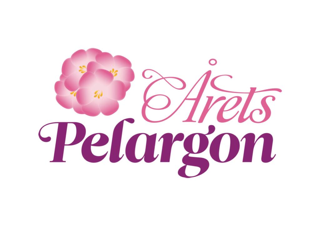 Årets Pelargon logotyp